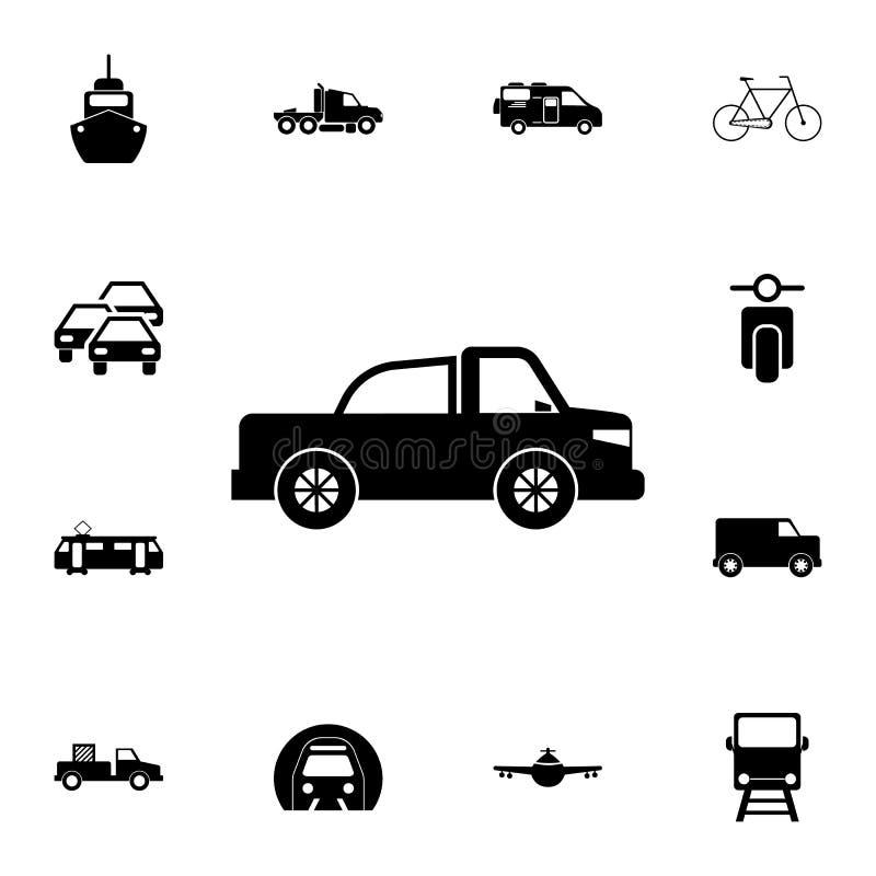 Uppsamlingssymbol Detaljerad uppsättning av transportsymboler Högvärdigt kvalitets- tecken för grafisk design En av samlingssymbo vektor illustrationer