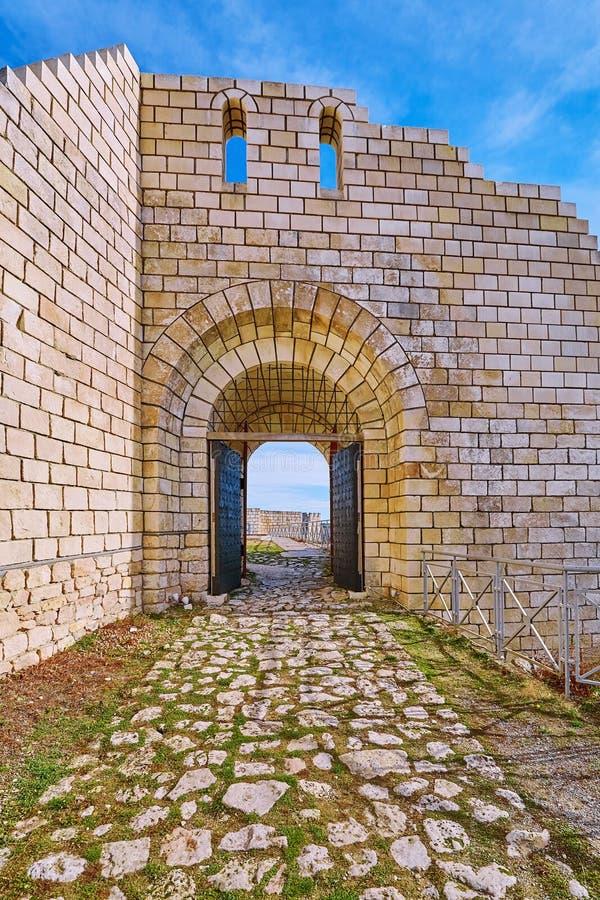 Uppslagsord av fästningen royaltyfria foton