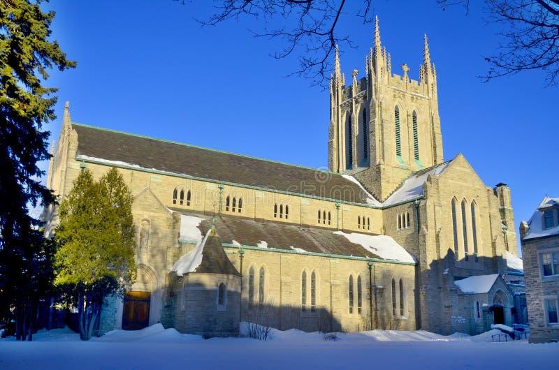 Uppstigning av vår Lord Parish kyrka royaltyfri foto