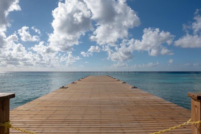 Upragnienie Dla spokoju ocean zdjęcie stock