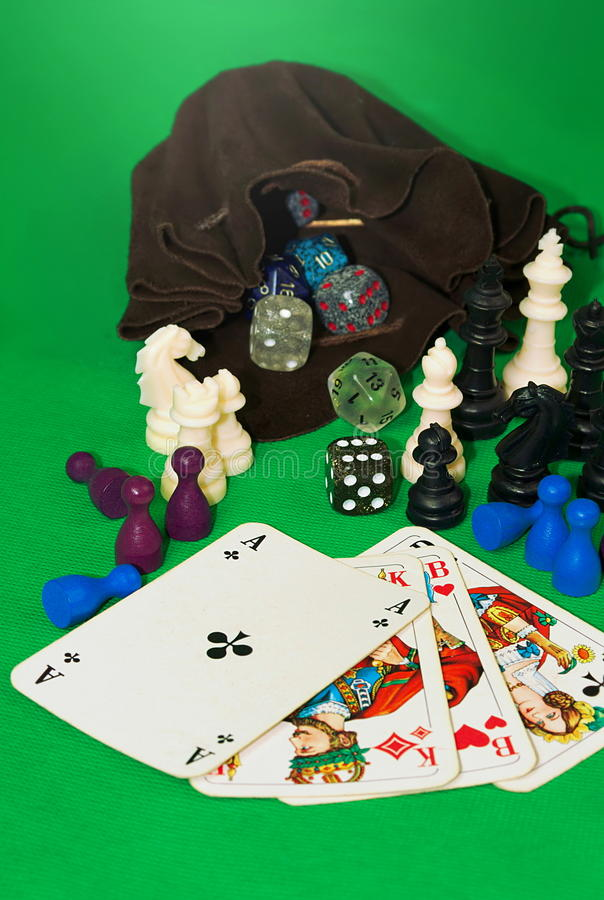 Uprawiać hazard kolekcję zdjęcia stock