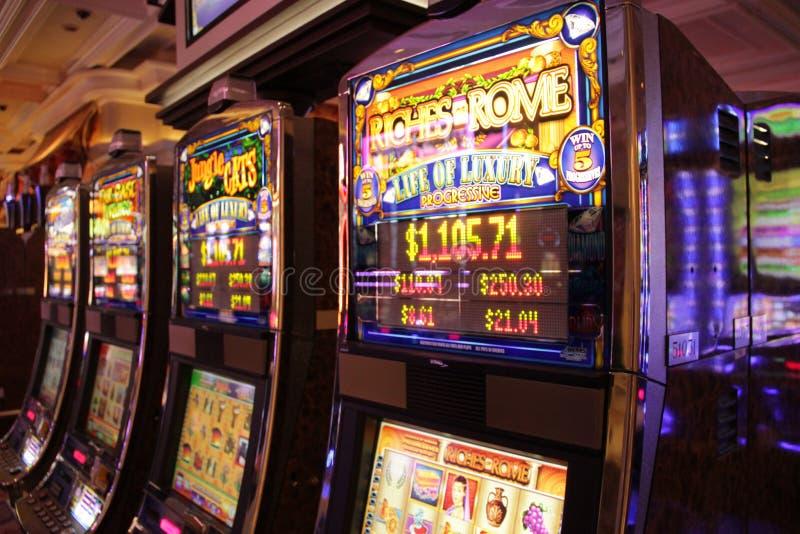 Uprawiać hazard maszynę obraz stock