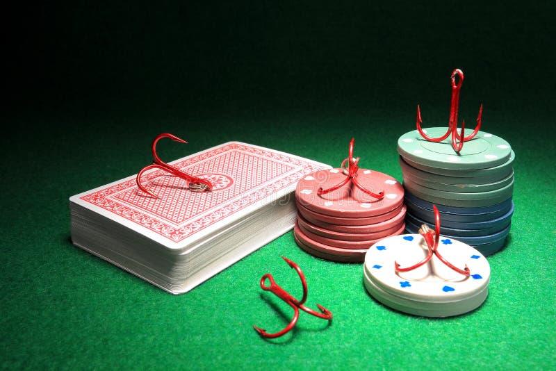 Uprawiać hazard nałóg zdjęcia royalty free