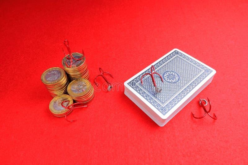 Uprawiać hazard nałóg fotografia royalty free