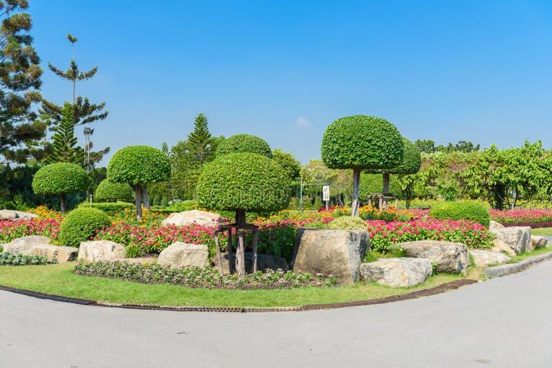Uprawiać ogródek i Kształtować teren zdjęcie stock