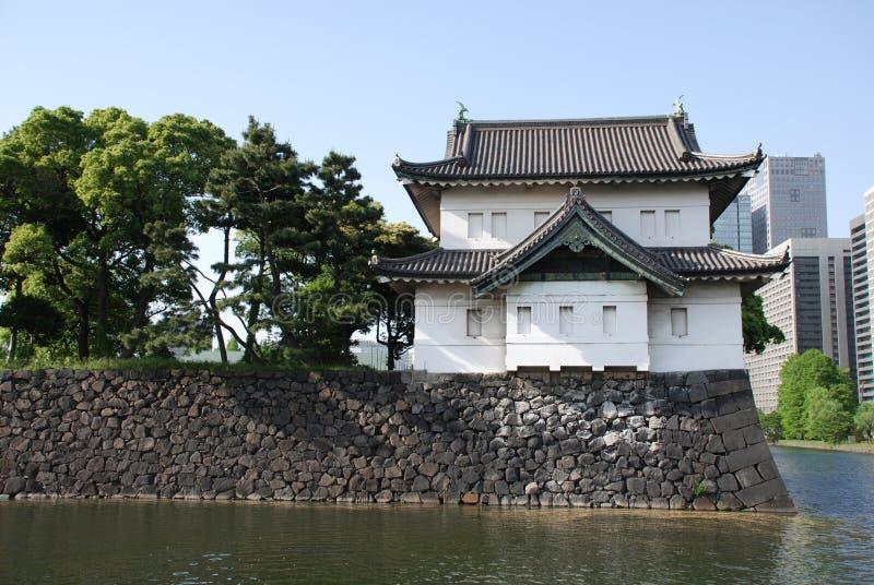 uprawia ogródek fosa cesarskiego pałac obrazy royalty free