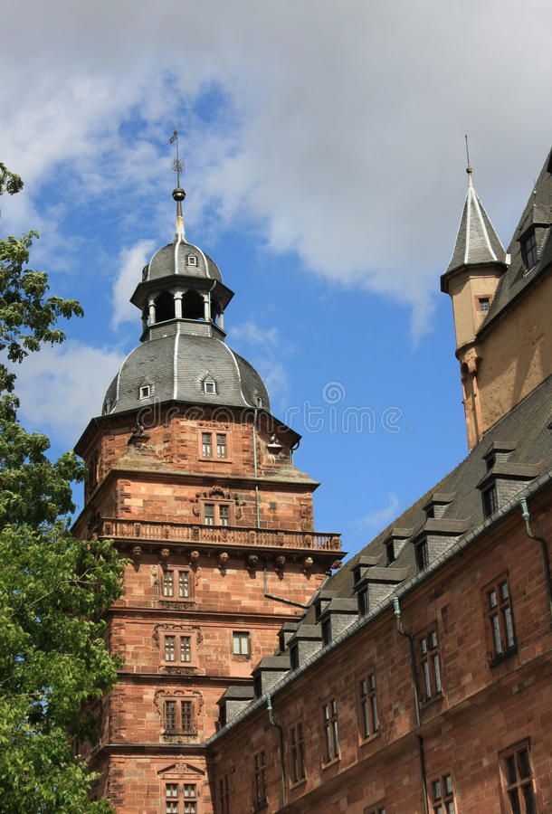 uprawia ogródek johannisburg pałac zdjęcie royalty free