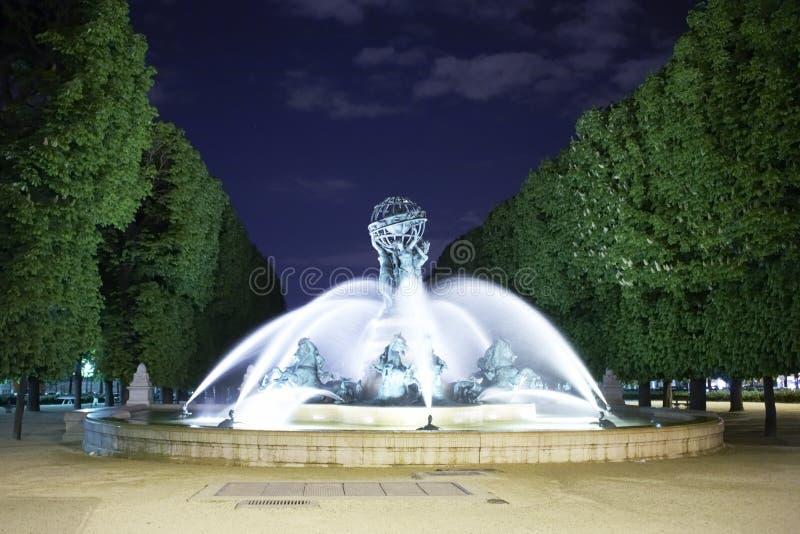 uprawia ogródek Luxembourg zdjęcia stock