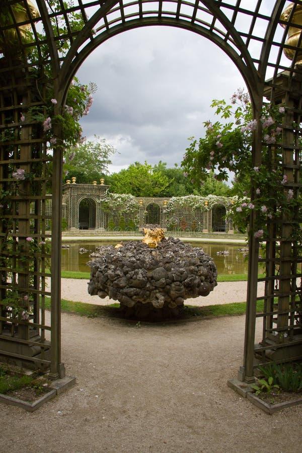 uprawia ogródek Versailles fotografia royalty free