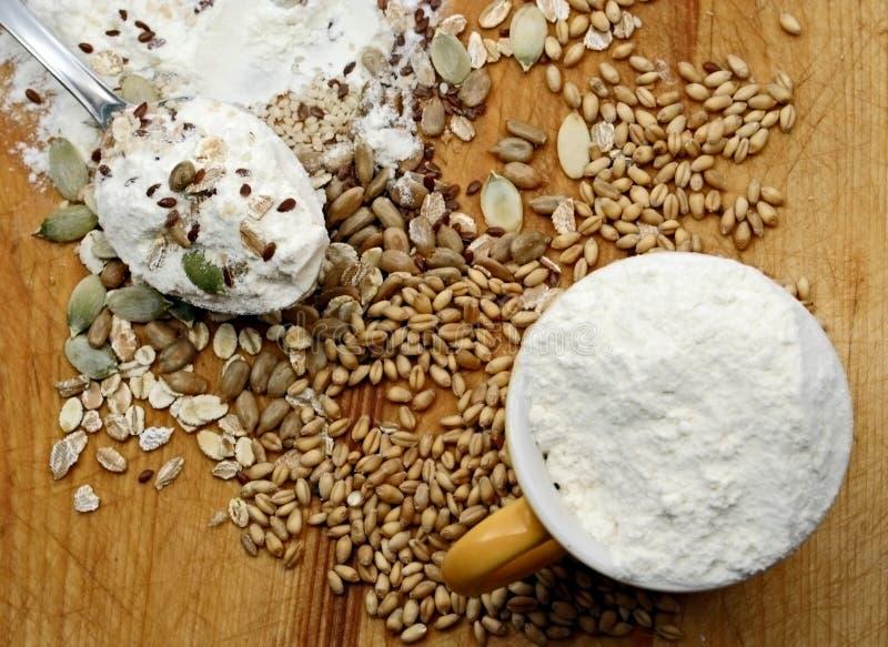 uprawy materiału siewnego mąki zdjęcie royalty free