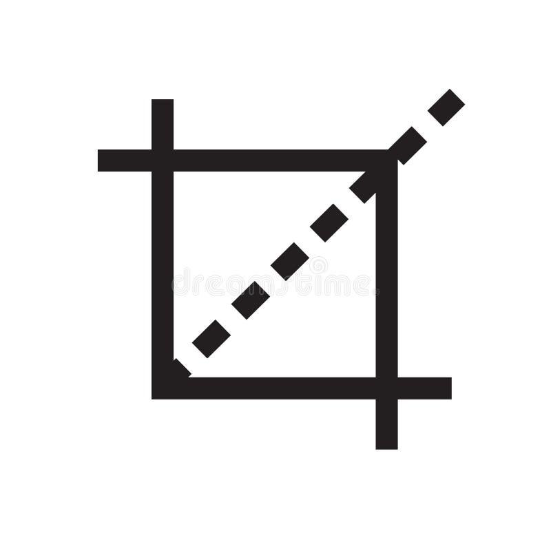 uprawy narzędziowa ikona na białym tle uprawy narzędziowa ikona dla twój strona internetowa projekta, logo, app, UI Uprawa symbol ilustracji