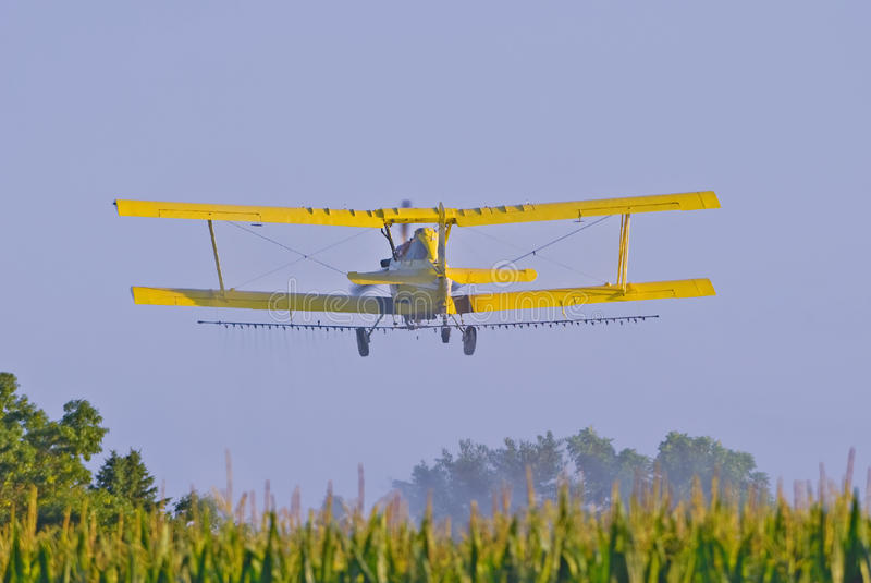 uprawy powietrzny duster obrazy stock