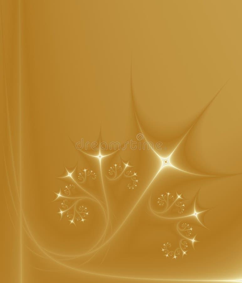 uprawy winorośli złotych gwiazd royalty ilustracja