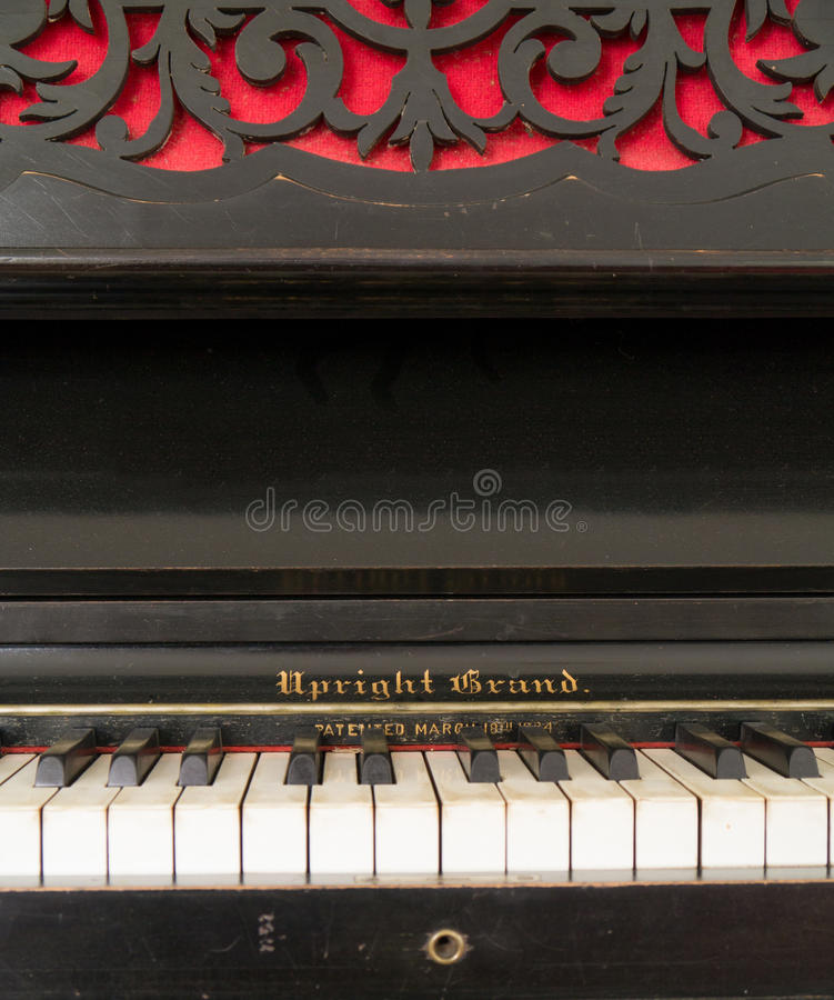 Download Upright grand piano stock image. Image of music, piano - 26532681