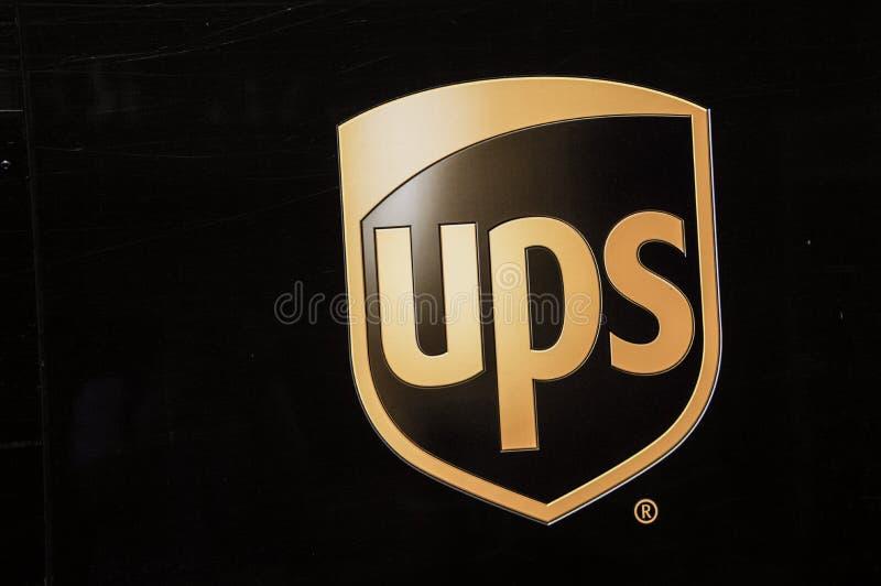 UPS Company Logo stock image