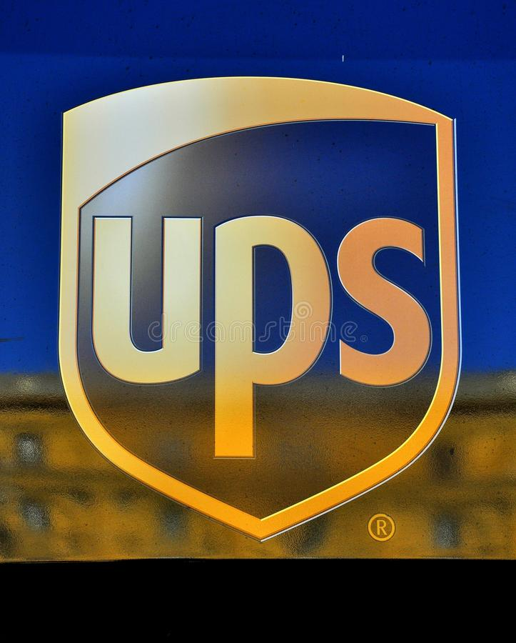 Ups Logo Editorial Photography
