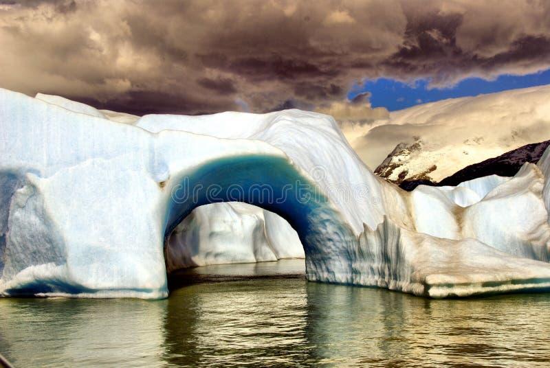 upsala παγετώνων στοκ φωτογραφία με δικαίωμα ελεύθερης χρήσης