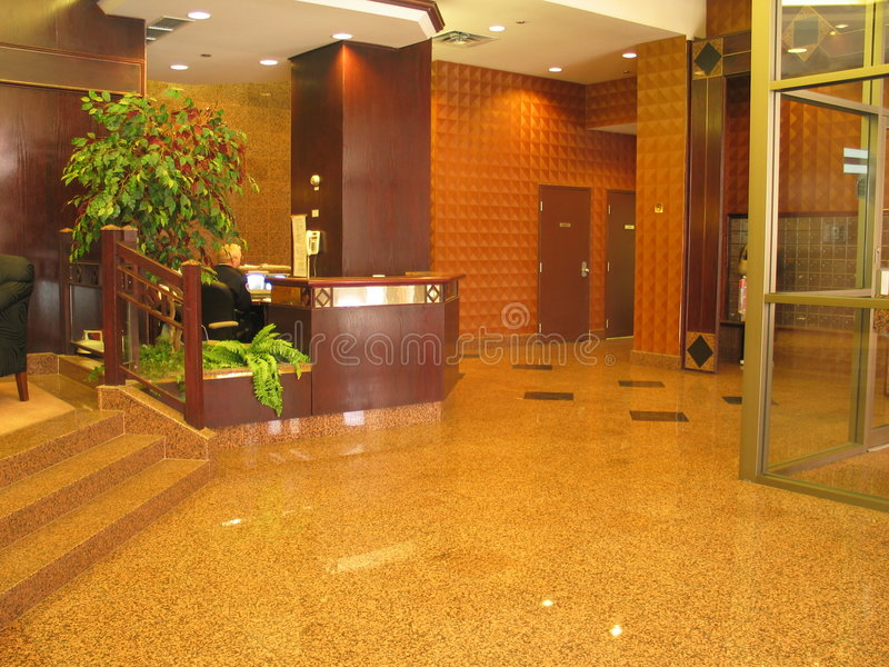 Download Upscale condo lobby stock image. Image of hotel, lounge - 189361