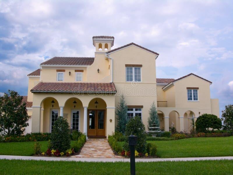 Upscale spanish style house stock photo image 1372216 for Luxury spanish style homes