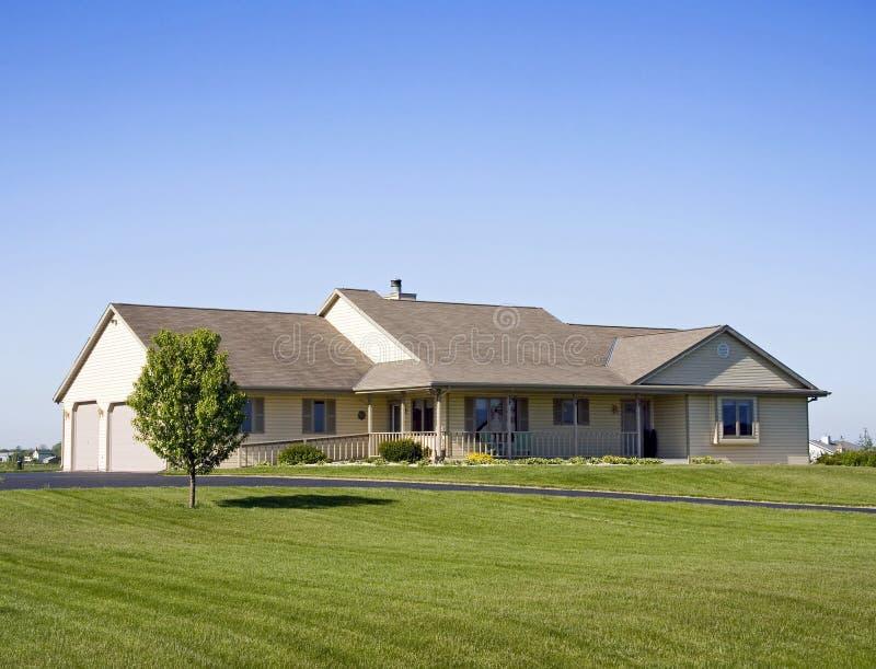 Upscale Suburban Estate royalty free stock images