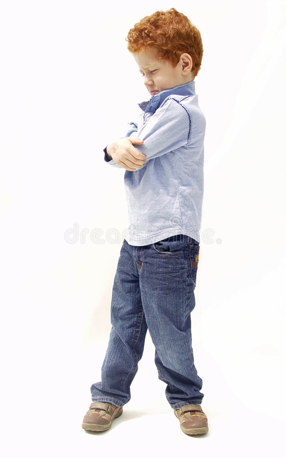 Download Upset boy stock photo. Image of time, think, angry, feelings - 5112570
