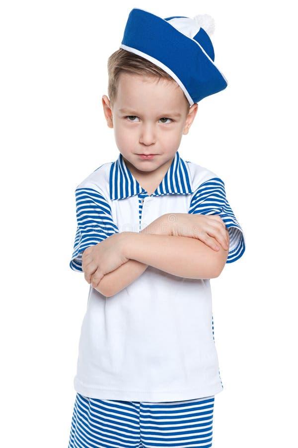 Upset little boy stock images