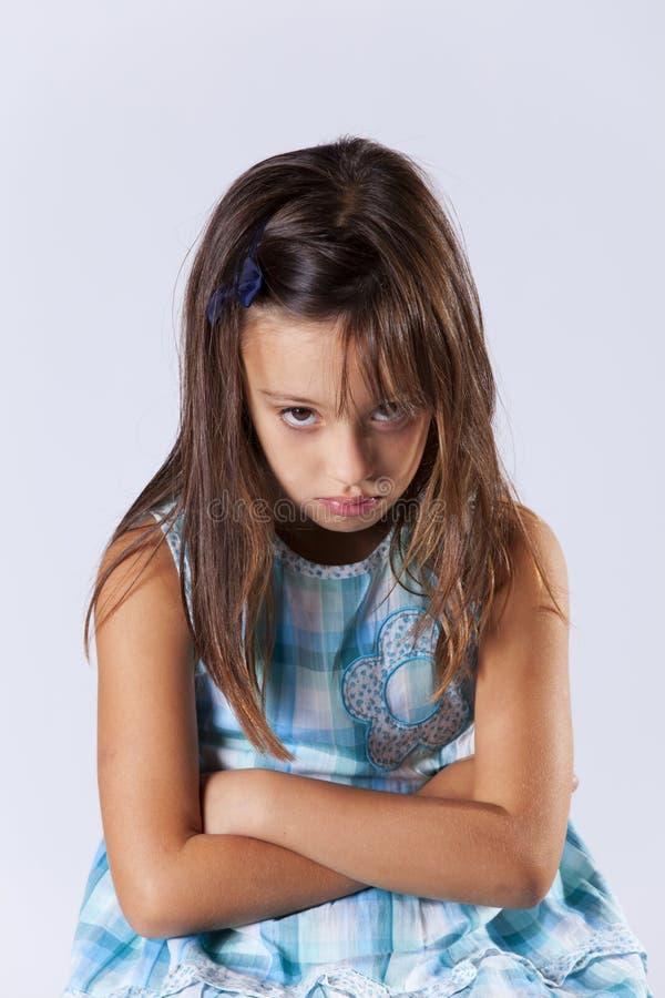 Download Upset little girl stock photo. Image of little, child - 27613274