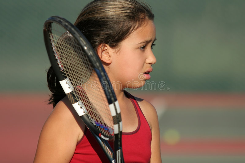 Upset tennis player stock images