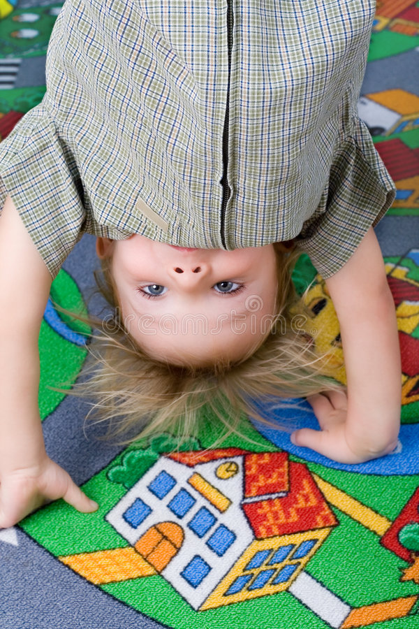 Upside Down. Stock Photo