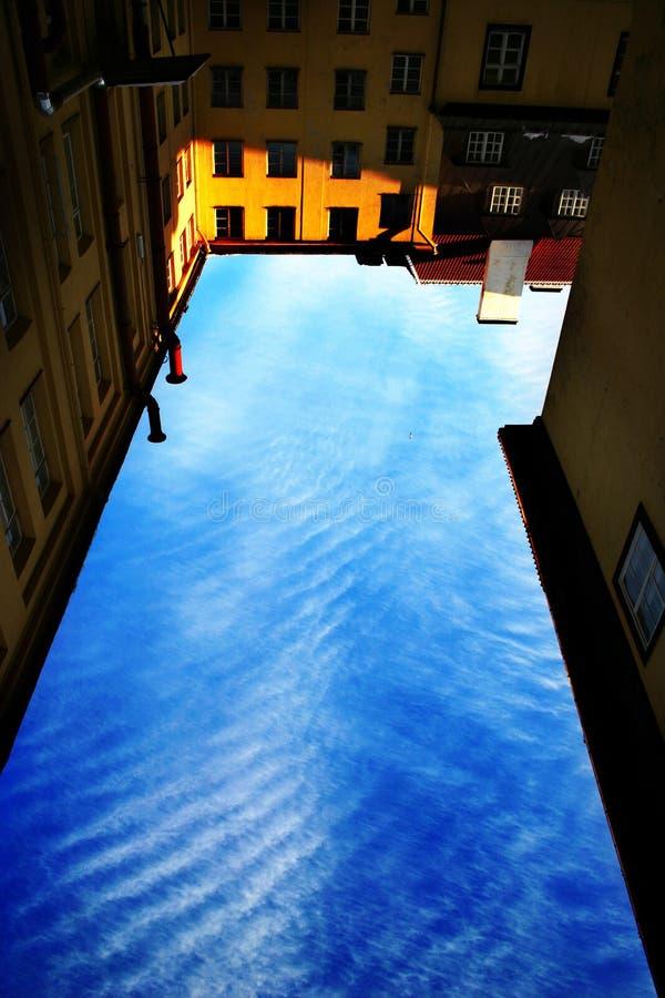 Upside-down (intencional) fotografia de stock royalty free