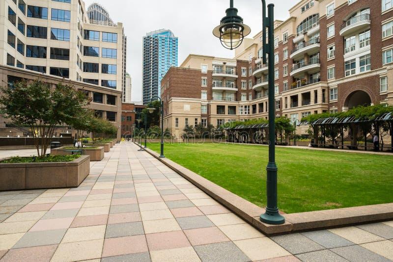 Uptown Charlotte stock foto