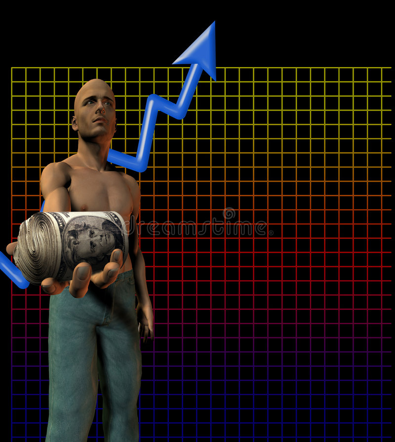 Upward Trend stock illustration