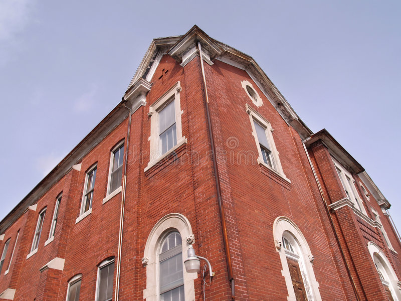 Download Upward View Of A Red Brick Building Stock Photography - Image: 4702292