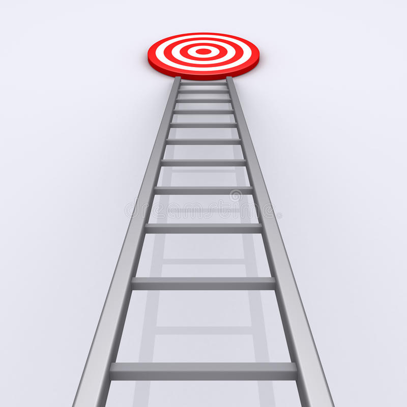 Download Upwards Is The Way To Success Stock Illustration - Image: 31249687