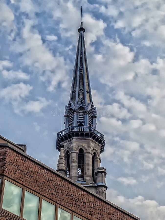UQAM steeple zdjęcie stock