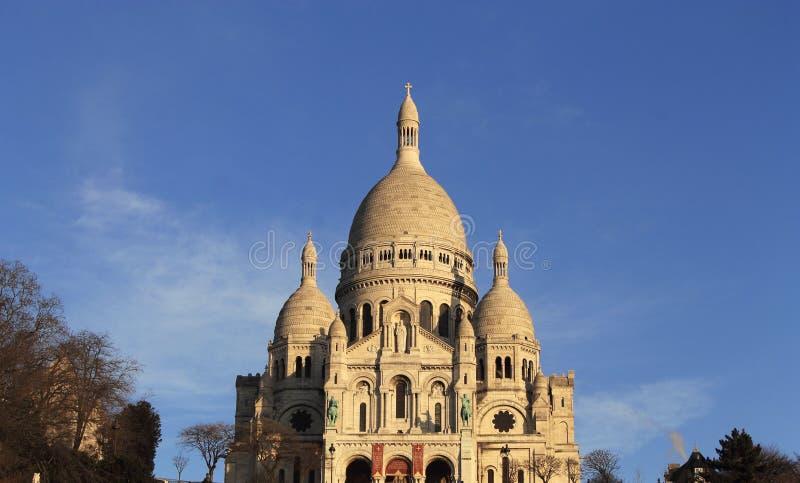 Ur Sacré-CÅ «, Париж стоковые фото