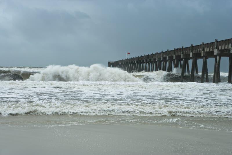 Uragano! immagine stock
