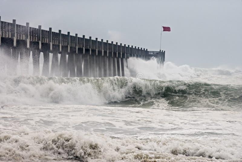 Uragano Ike immagini stock