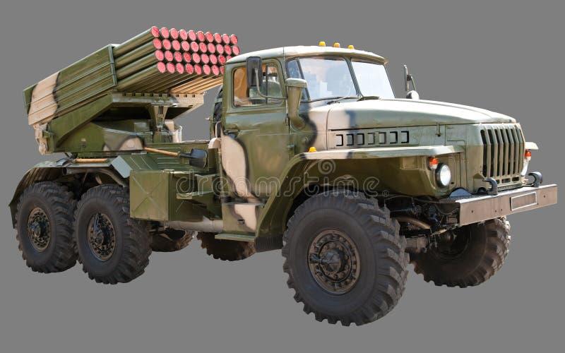Ural BM-21 Absolvent lizenzfreie stockfotos