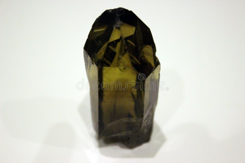 Ural dymiąca kwarc, krystaliczny rauch topaz, fikcyjny kryształ fotografia royalty free