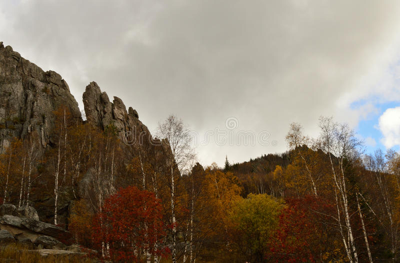 The Ural Mountains royalty free stock photography