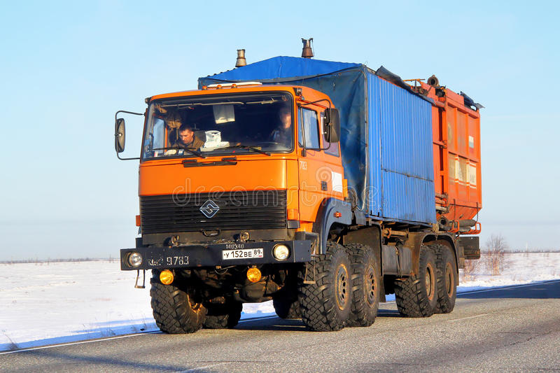 URAL 5323 royalty free stock photography