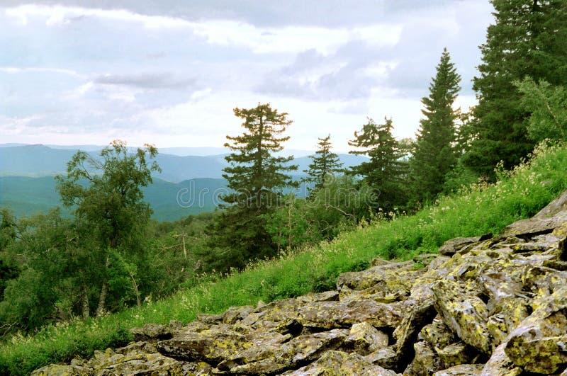 Ural skłon zdjęcie royalty free