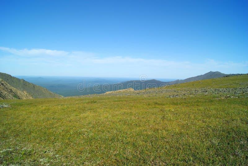 Ural wysokiej góry tundra zdjęcie stock