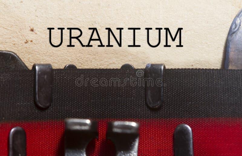 Uran som skrivas i ett tappningpapper royaltyfria foton