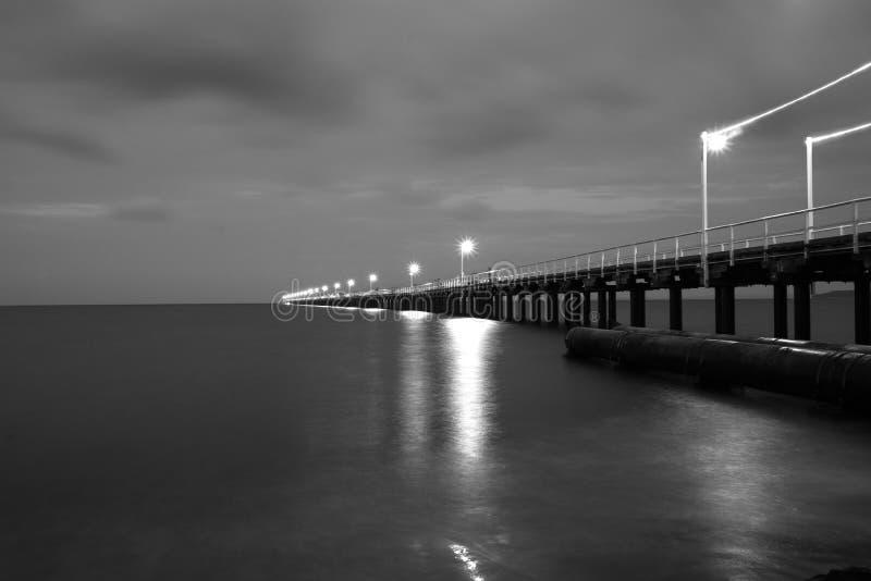Urangan Pier Hervey Bay Australia royaltyfri foto