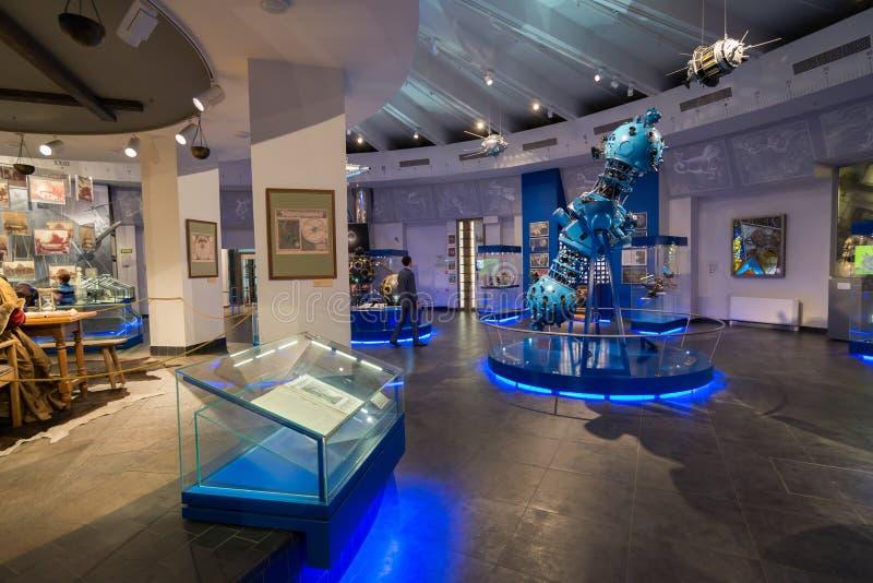 Urania Museum nel planetario di Mosca. La Russia fotografie stock