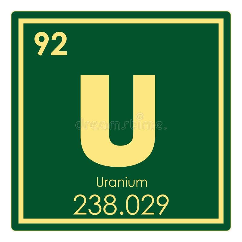 download uranium chemical element stock illustration illustration of science 109036207 - Periodic Table Of Elements Uranium