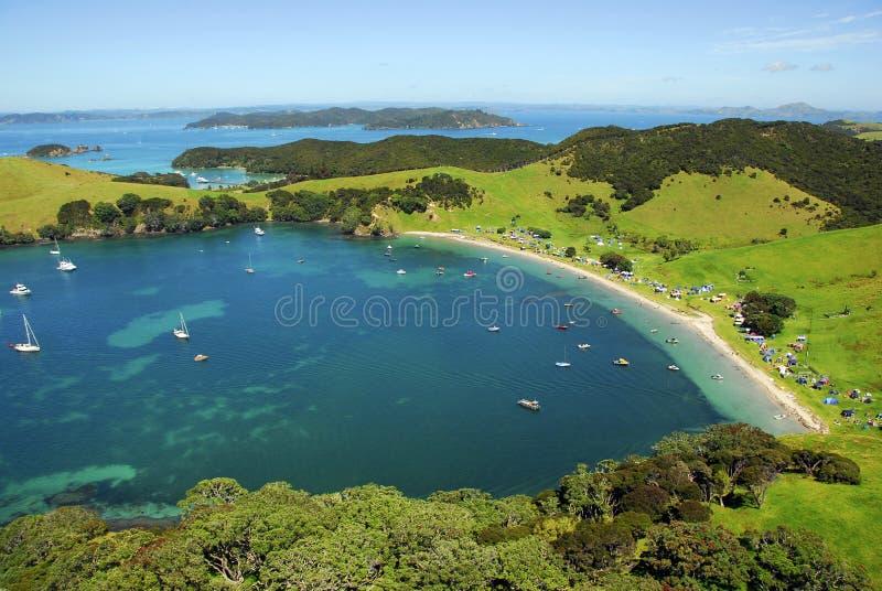 Urapukapuka Island - Bay of Islands, New Zealand royalty free stock photo