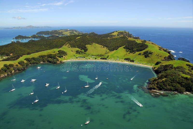 Urapukapuka Island - Bay of Islands, New Zealand royalty free stock images